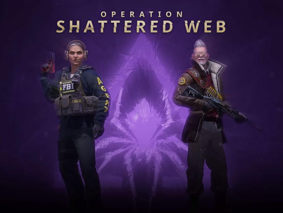 CSGO Operation Shattered Web