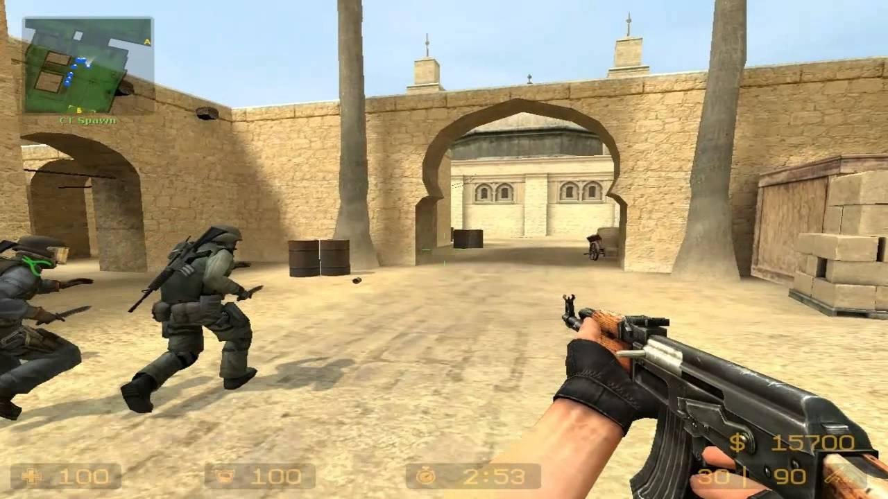 Counter Strike Source Gameplay