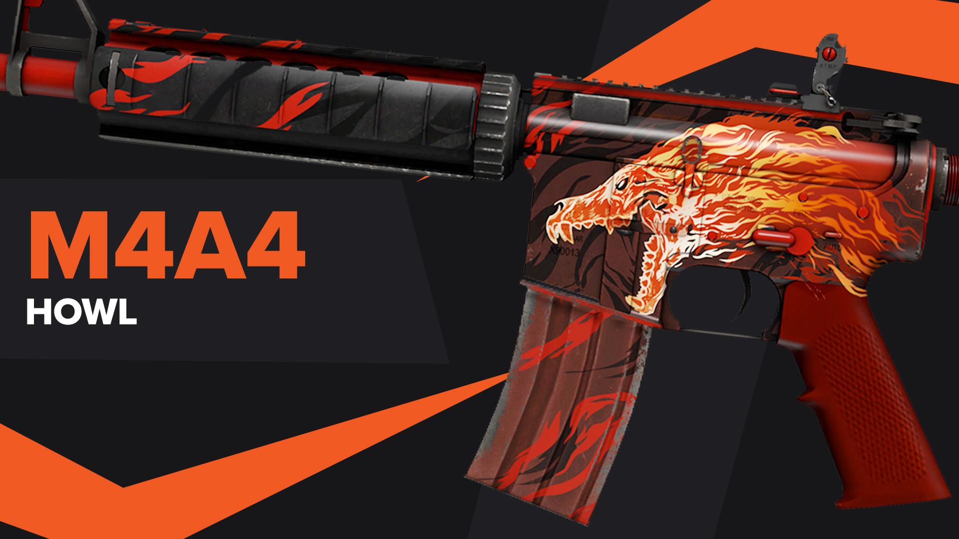 Howl CSGO Skin M4A4