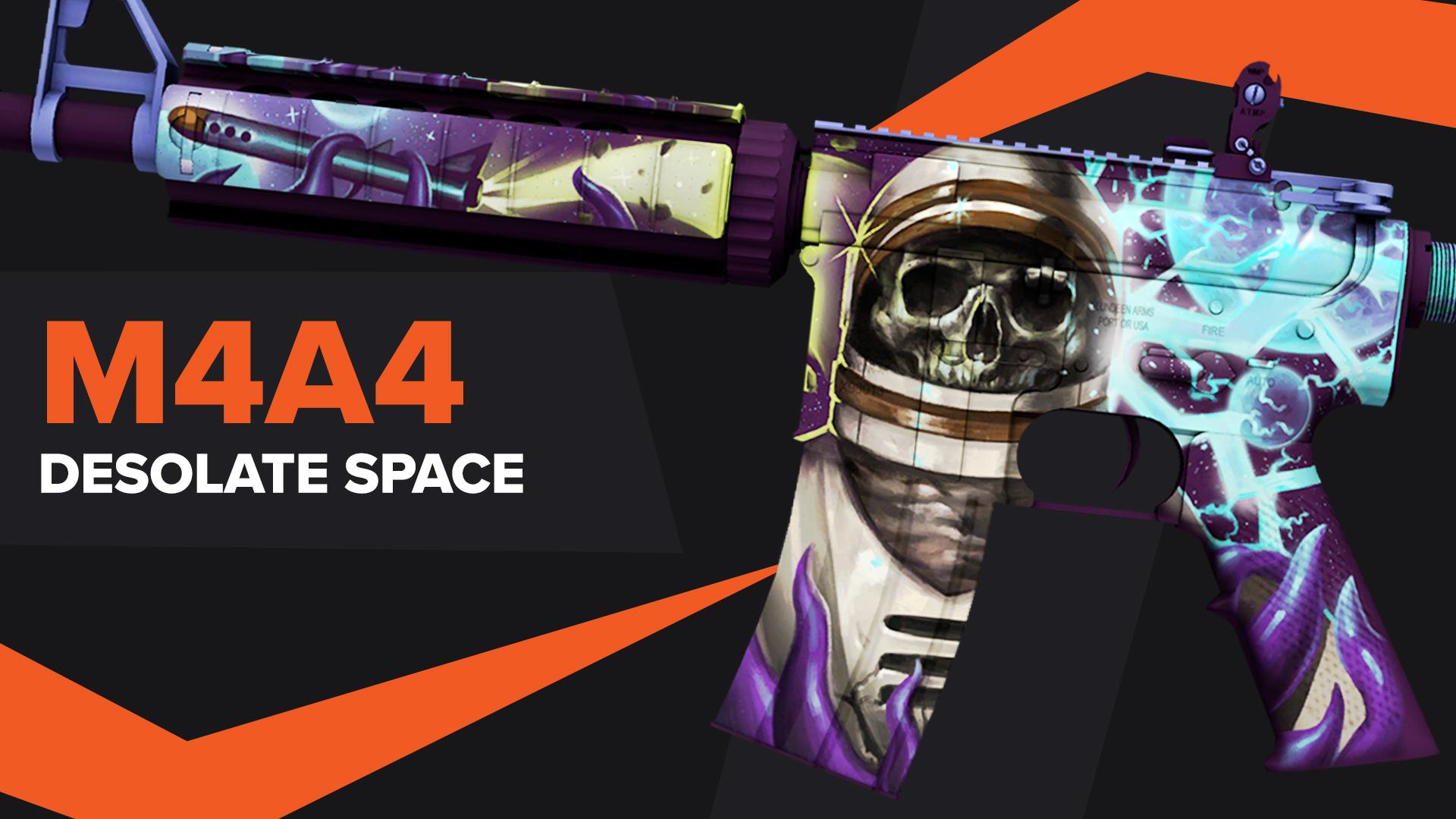 Desolate Space CSGO Skin M4A4