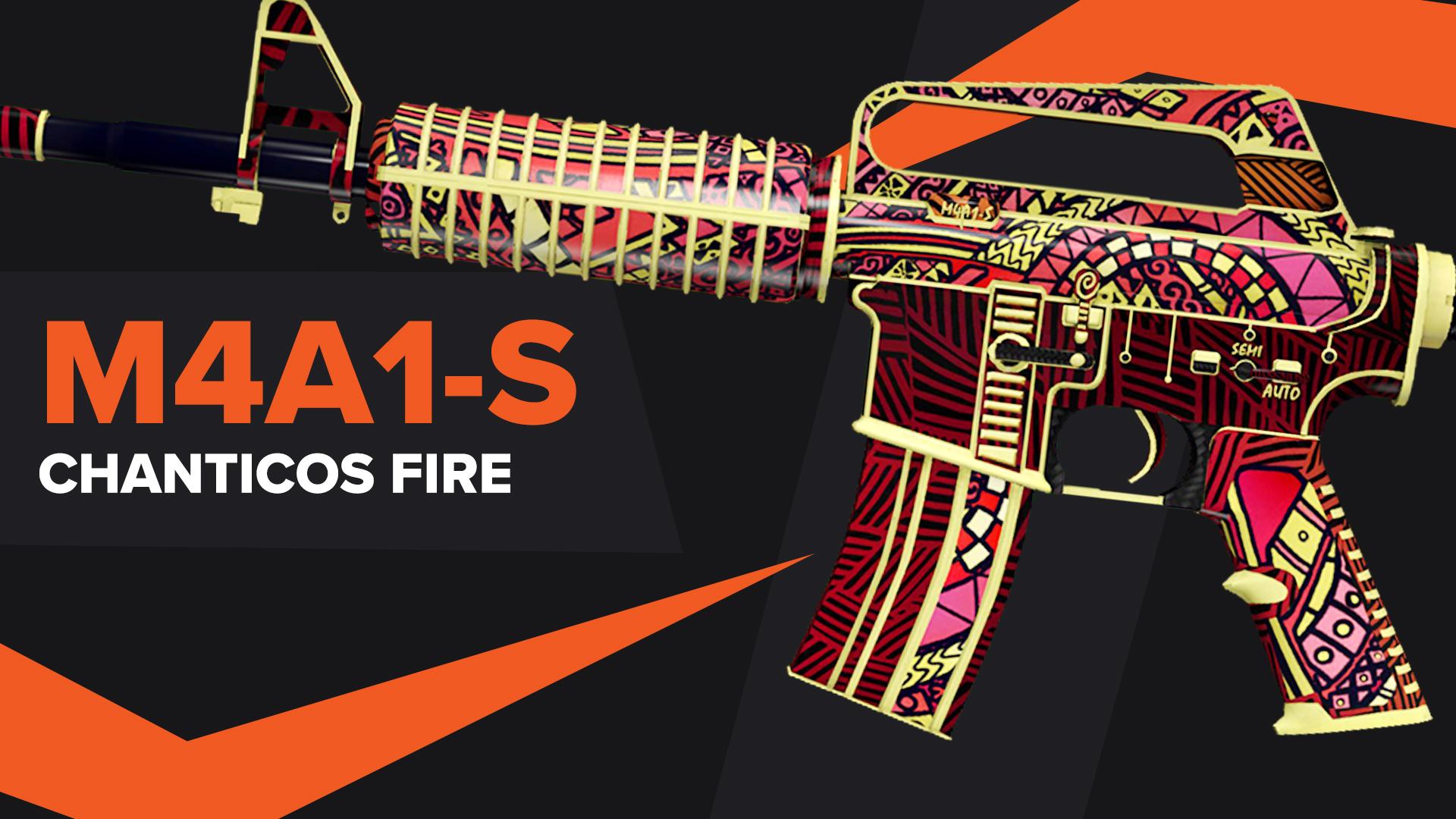 Chanticos Fire CSGO Skin M4A1S