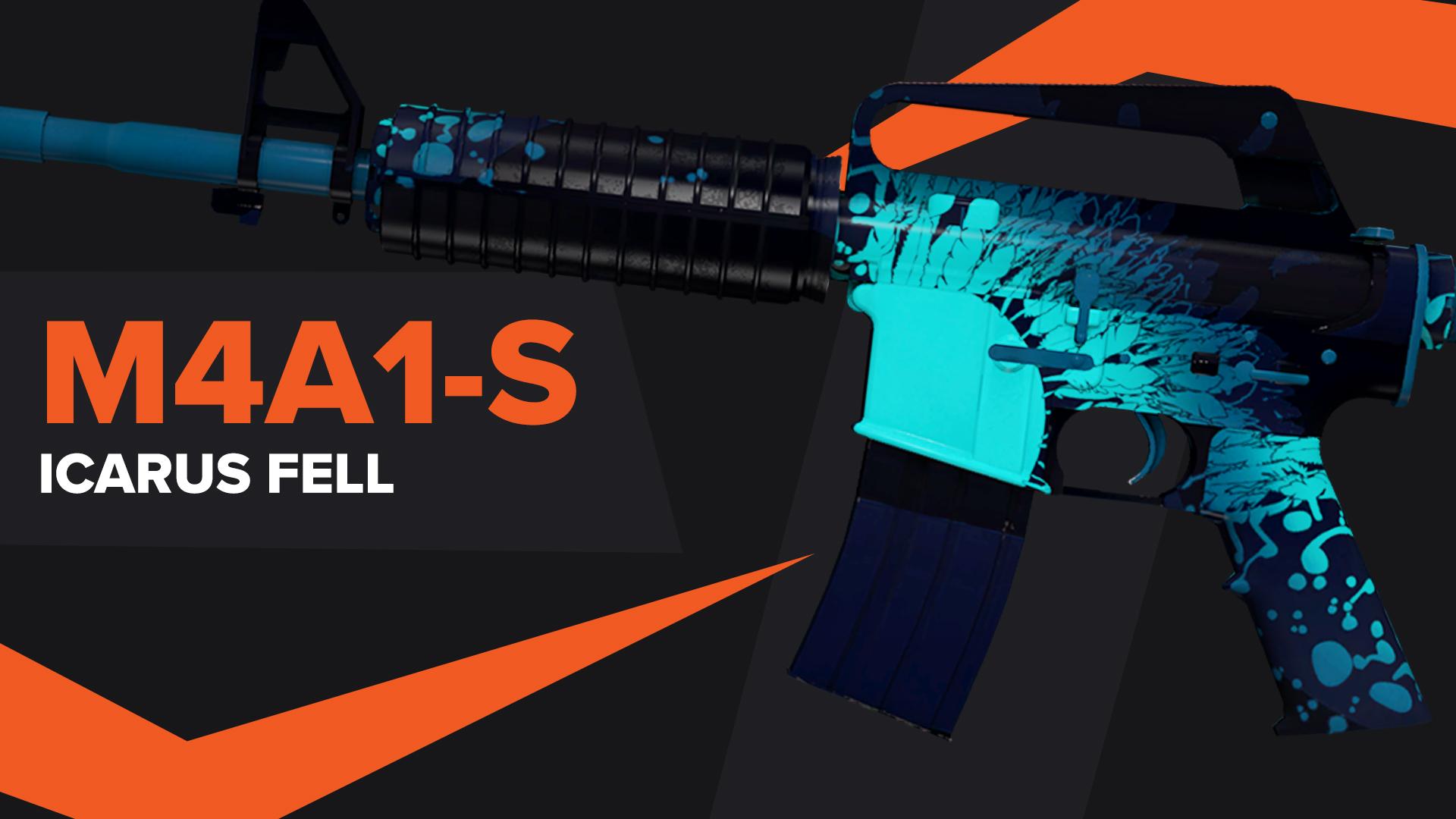 Icarus Fell CSGO Skin M4A1S