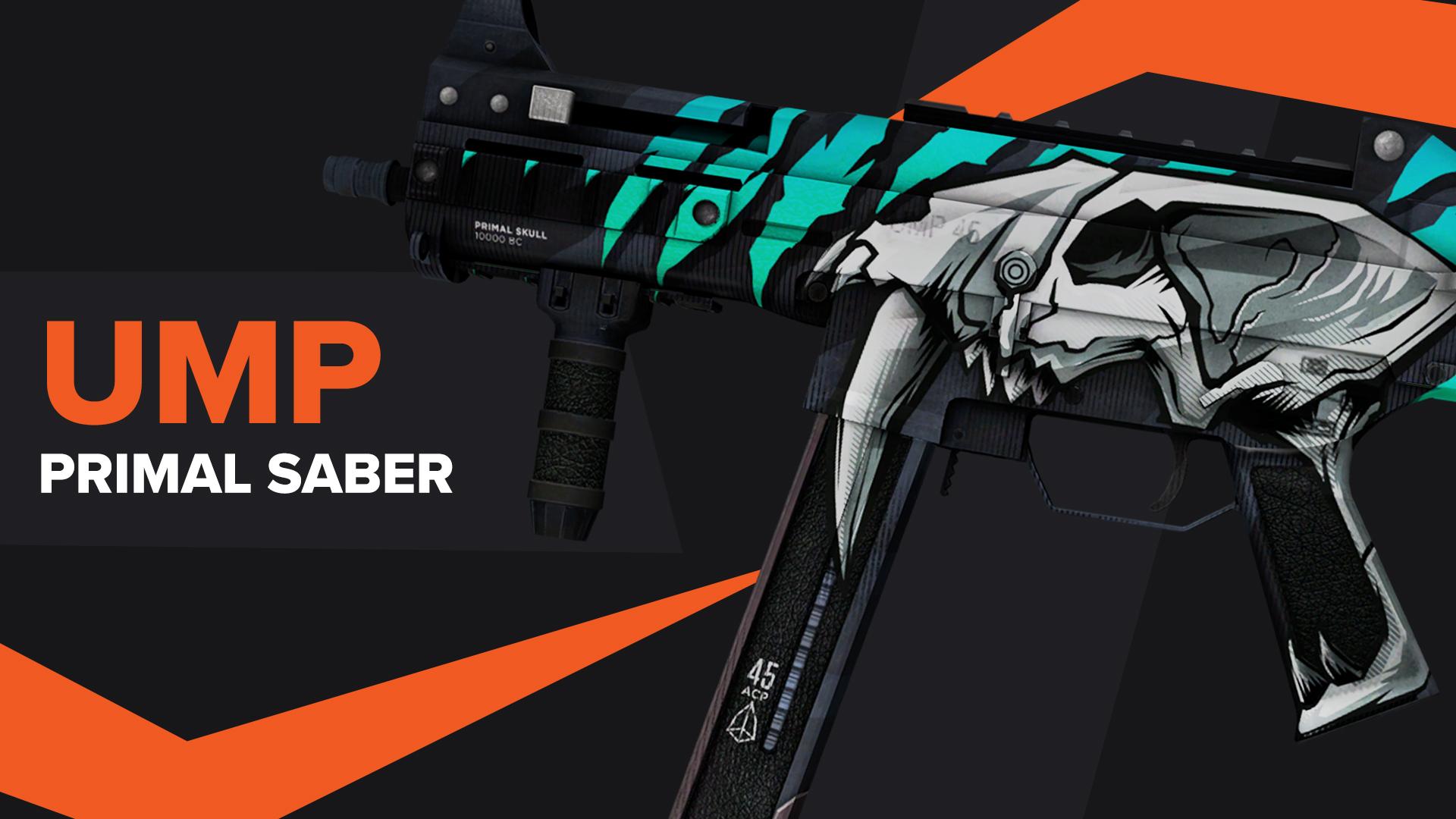 UMP45 Primal Saber CSGO Skin