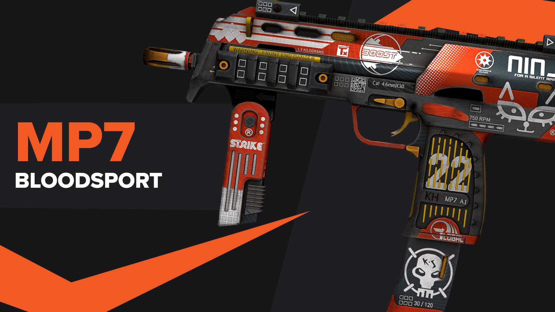 MP7 Bloodsport CSGO Skin