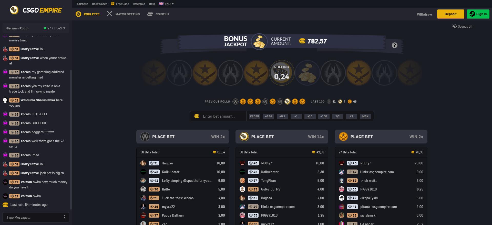 CSGO Gambling Sites CSGOEmpire