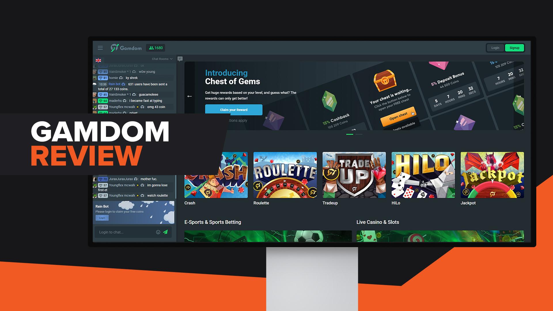 CSGO Gambling Sites Gamdom
