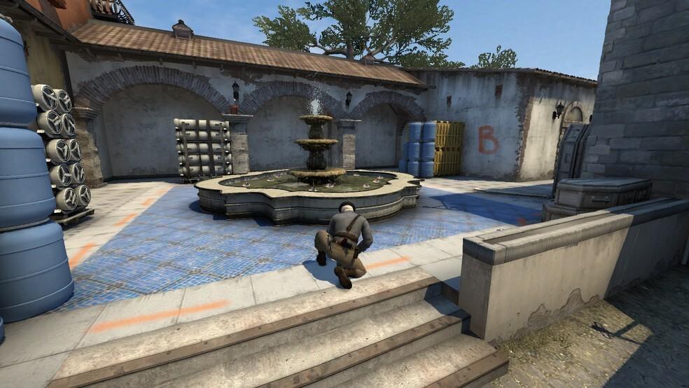 Inferno Bombsite B Screenshot