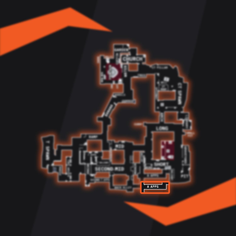 Inferno CSGO Apps Map