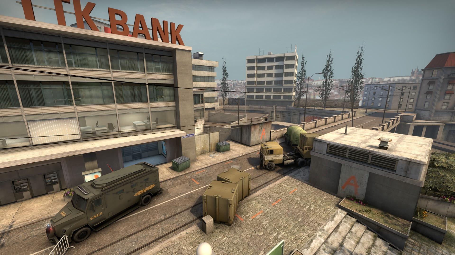 Bombsite A Overpass