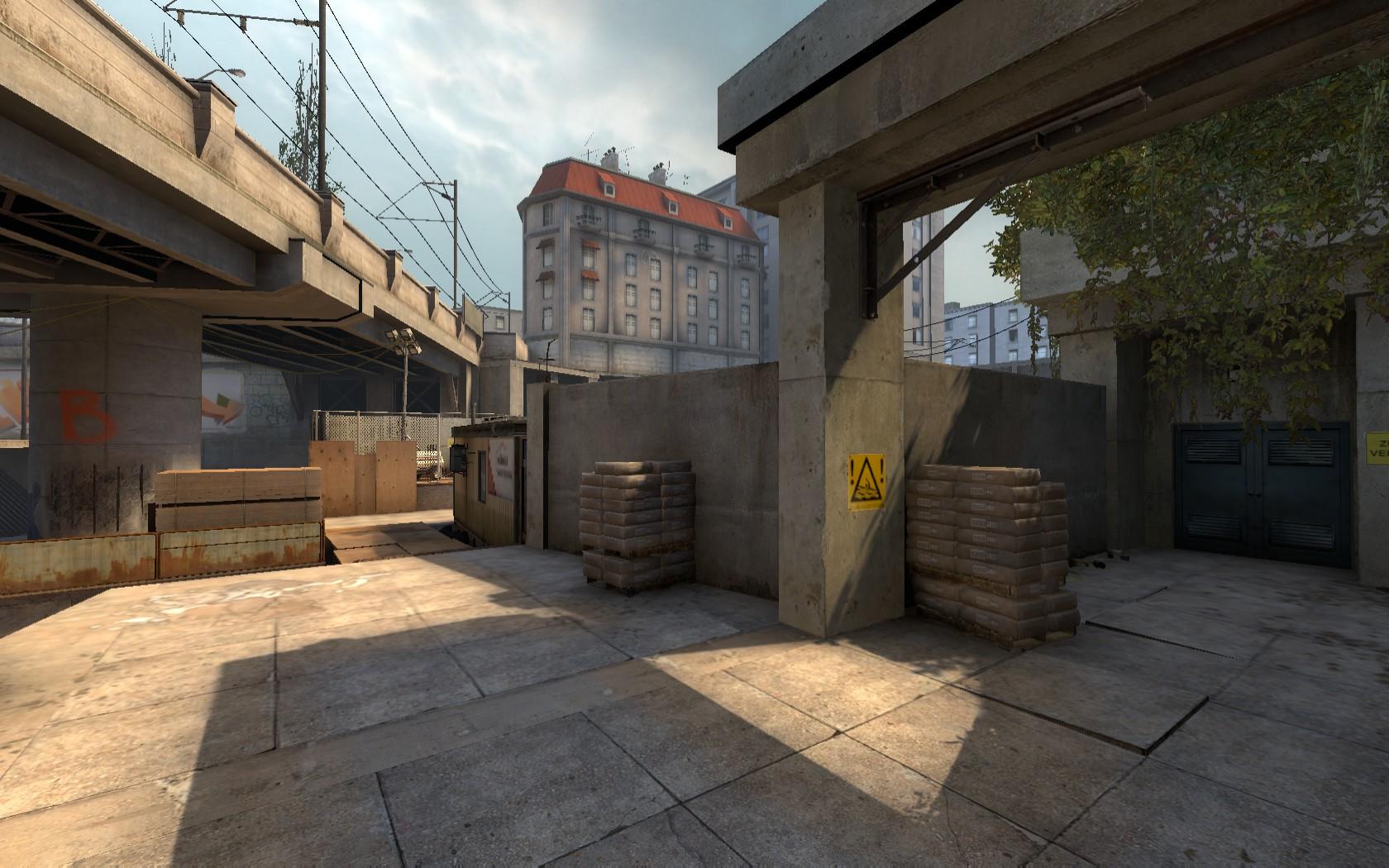 Overpass Bombsite B Screenshot