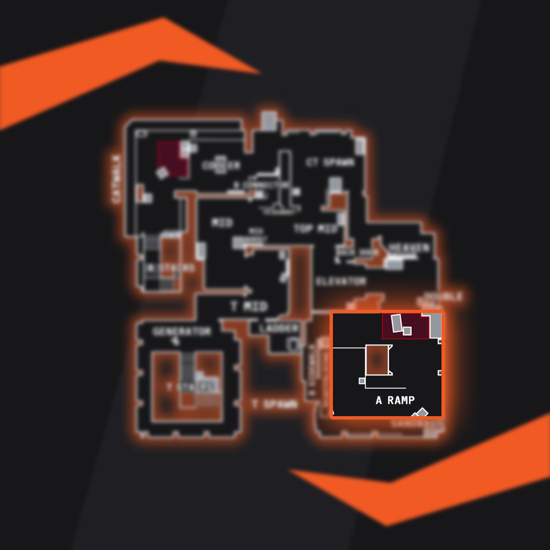 Vertigo Bombsite A CSGO Callout