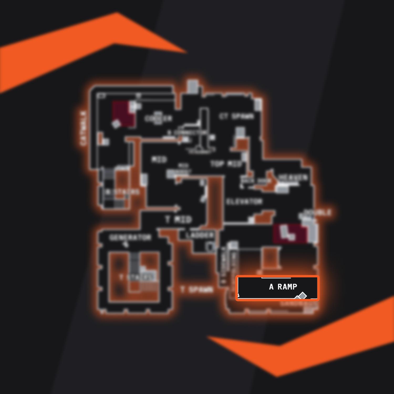 Vertigo Ramp CSGO Callout