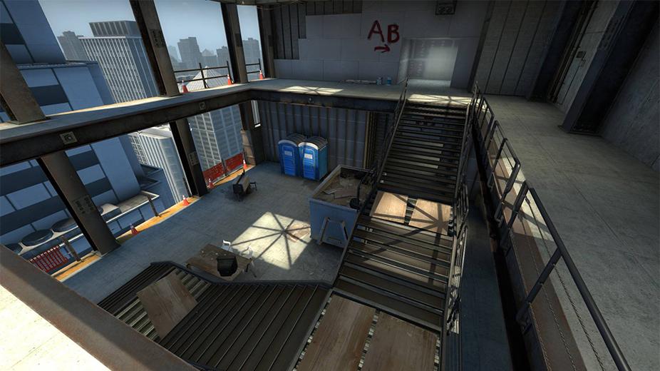 Vertigo Stairwell CSGO