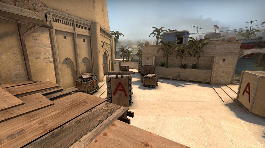 Mirage Bombsite A Screenshot