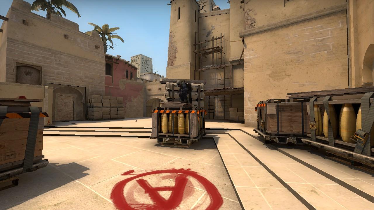 Bombsite A CSGO Mirage