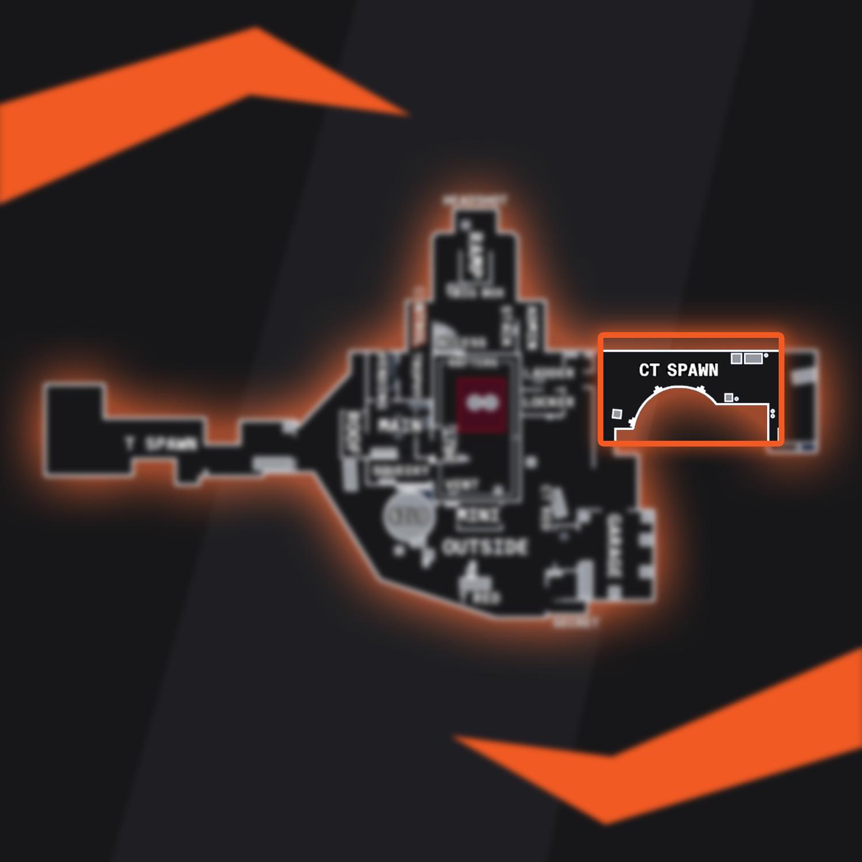CSGO Nuke CT Spawn Callout