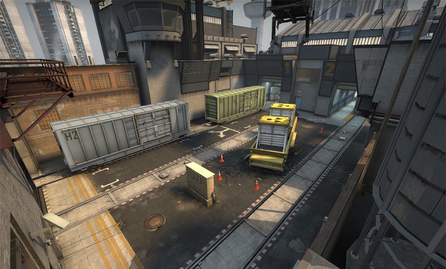 CSGO Train Bombsite A