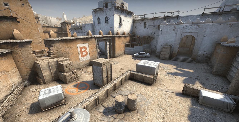 Dust 2 Bombsite B