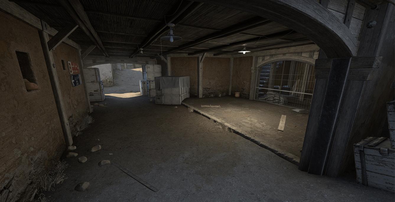 CSGO Dust 2 CT Spawn
