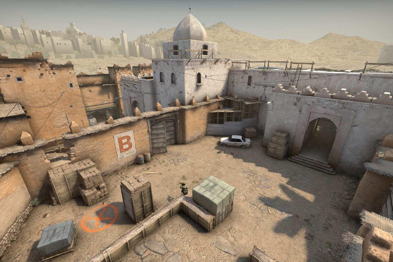 CSGO Bombsite B Screenshot