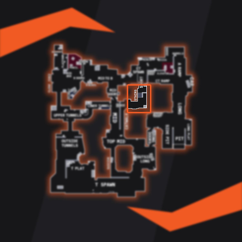 Dust 2 Map Overview Catwalk