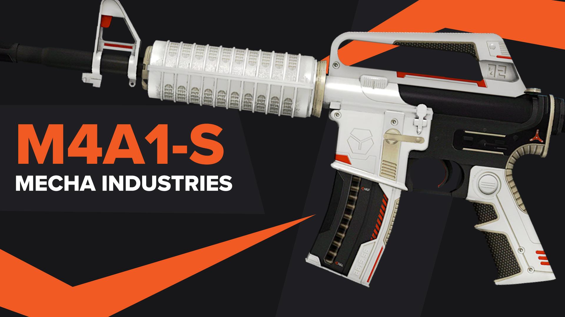 Mecha Industries CSGO Skin M4A1S
