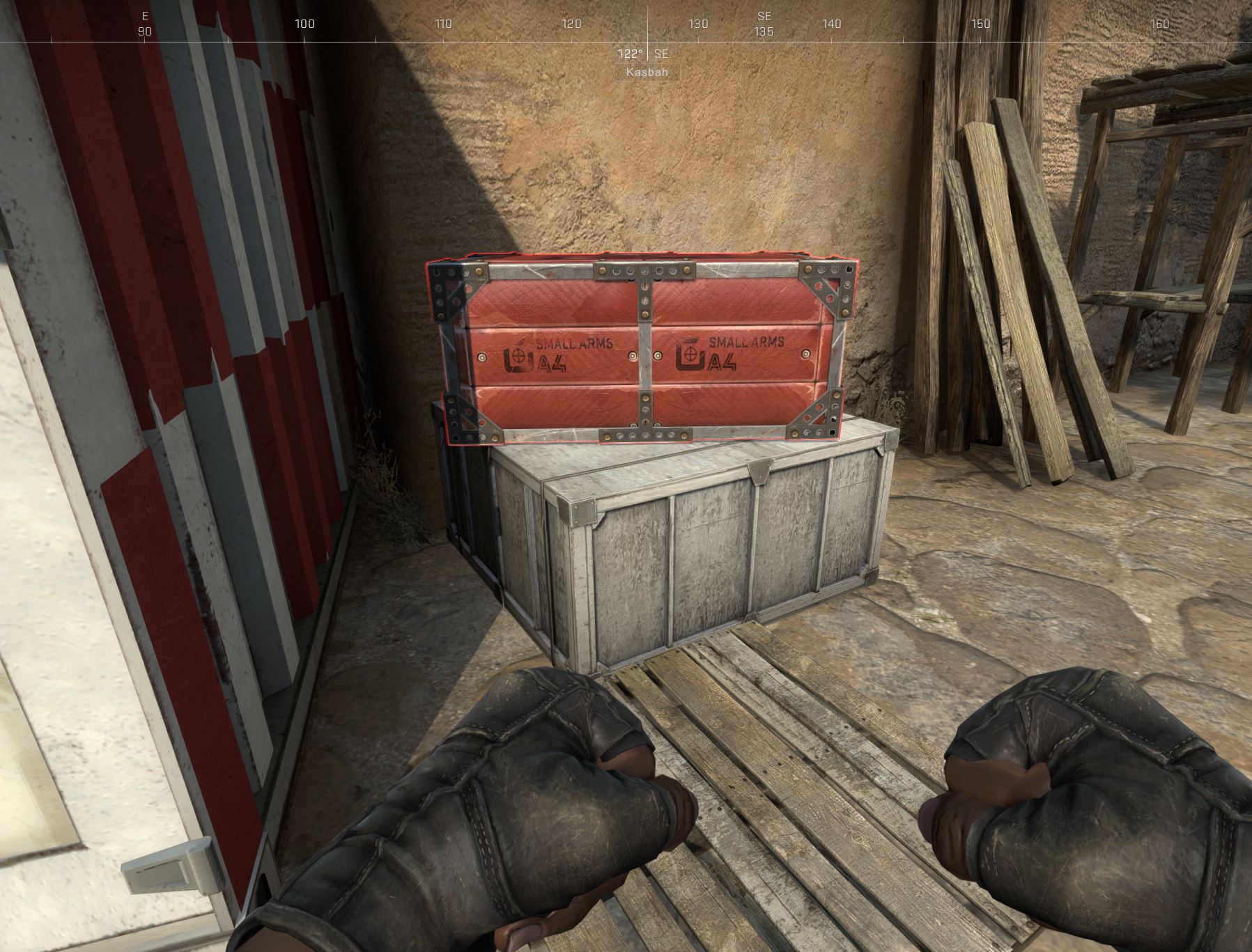 CSGO Danger Zone Red Armory Crate