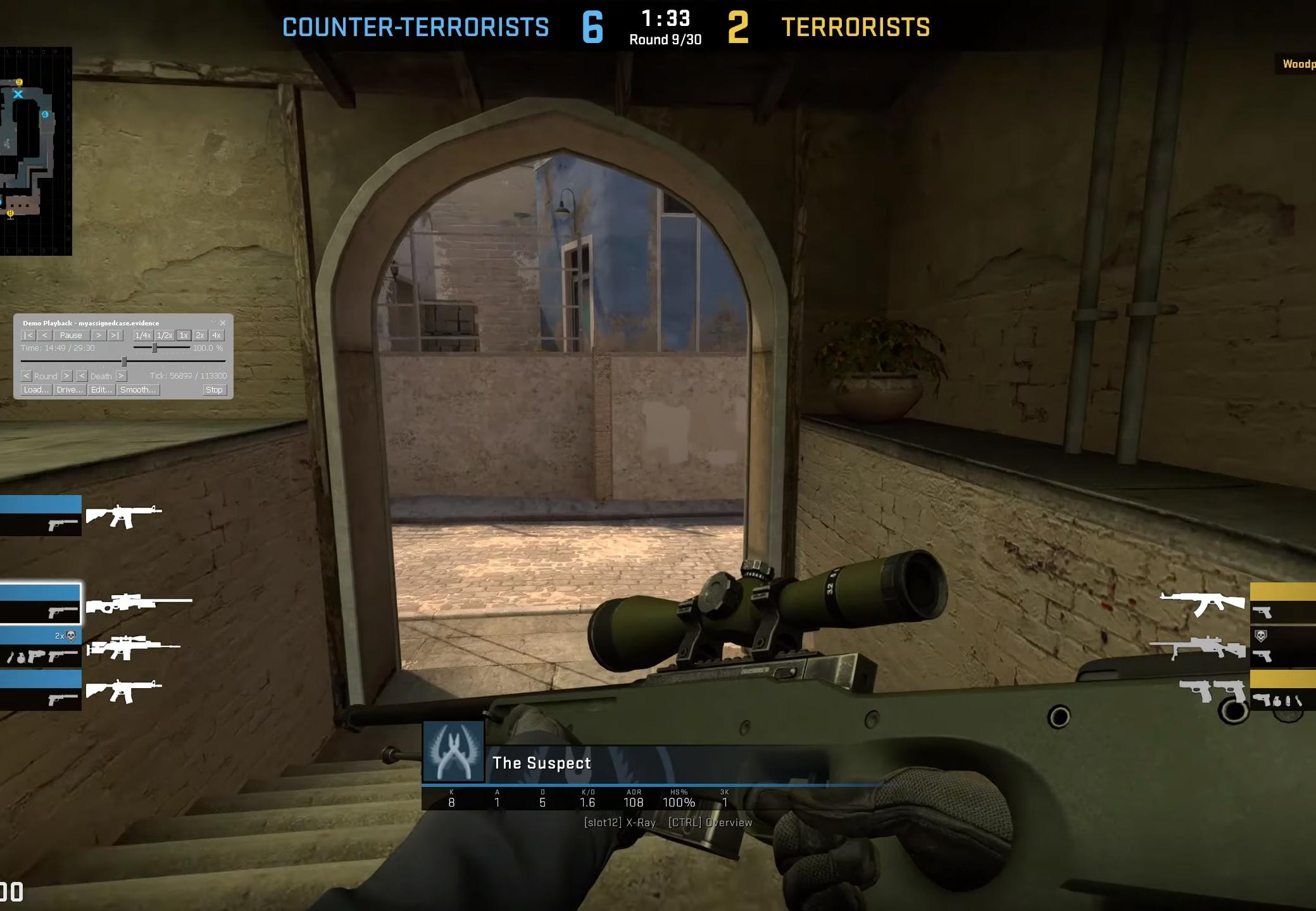 CSGO Overwatch Screenshot