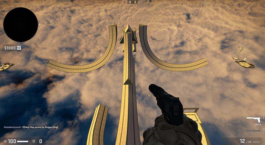 CS GO Steam Workshop Map Surf 4 fun