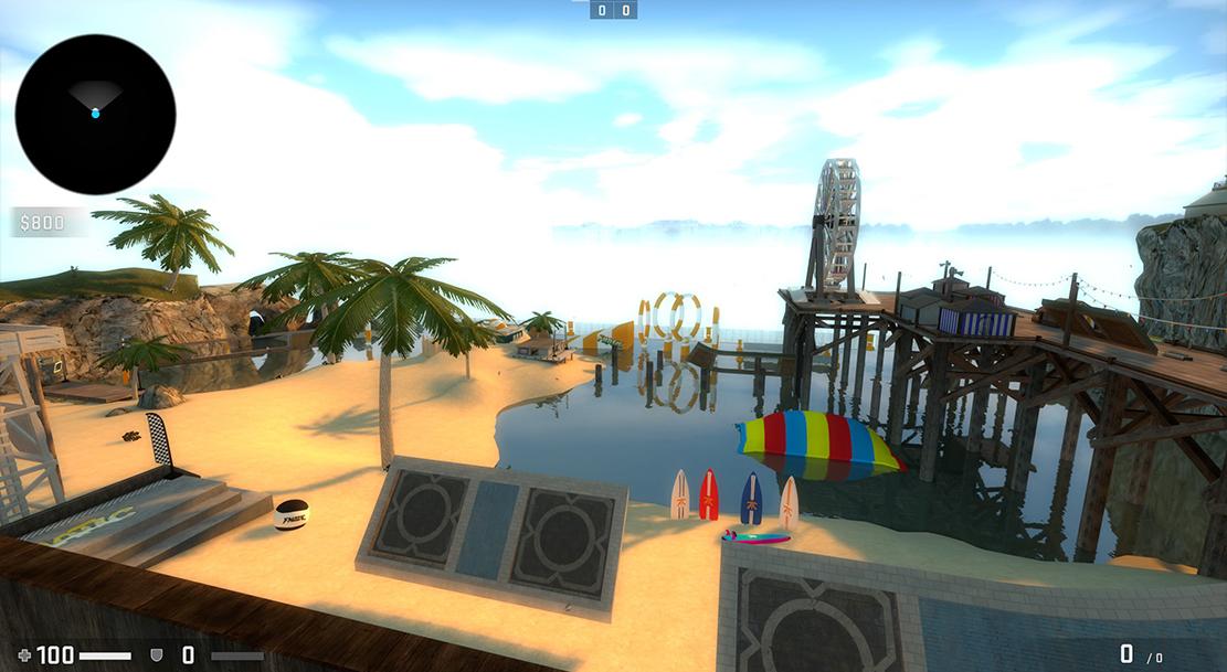 CS GO Steam Workshop Map Surf Summer