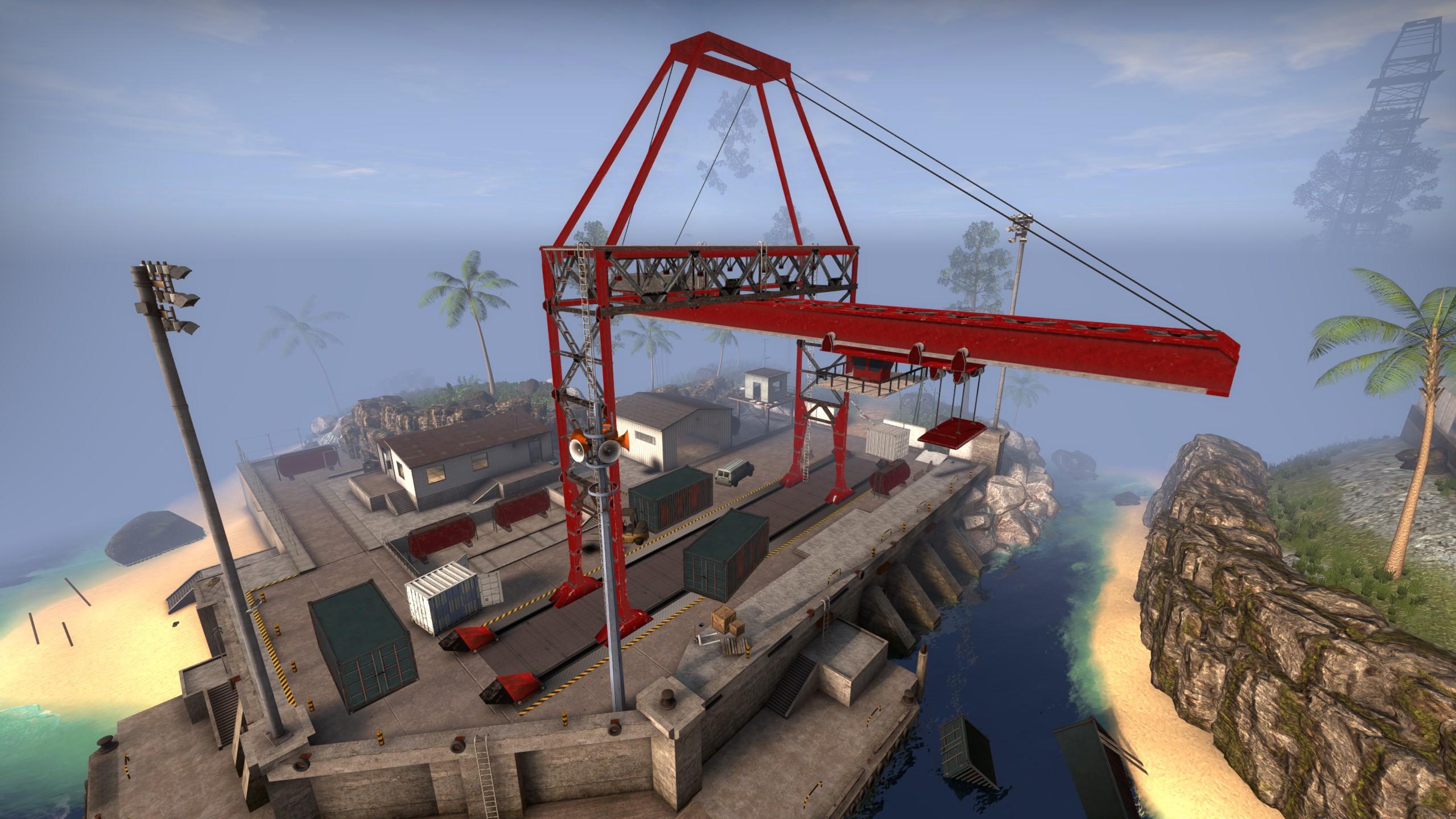 CS GO Danger Zone Jungle Crane