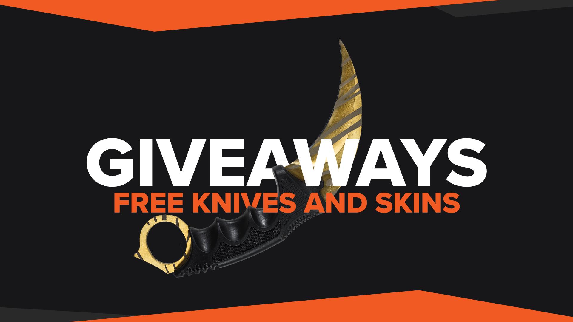 CSGO Giveaways Free CSGO Skins
