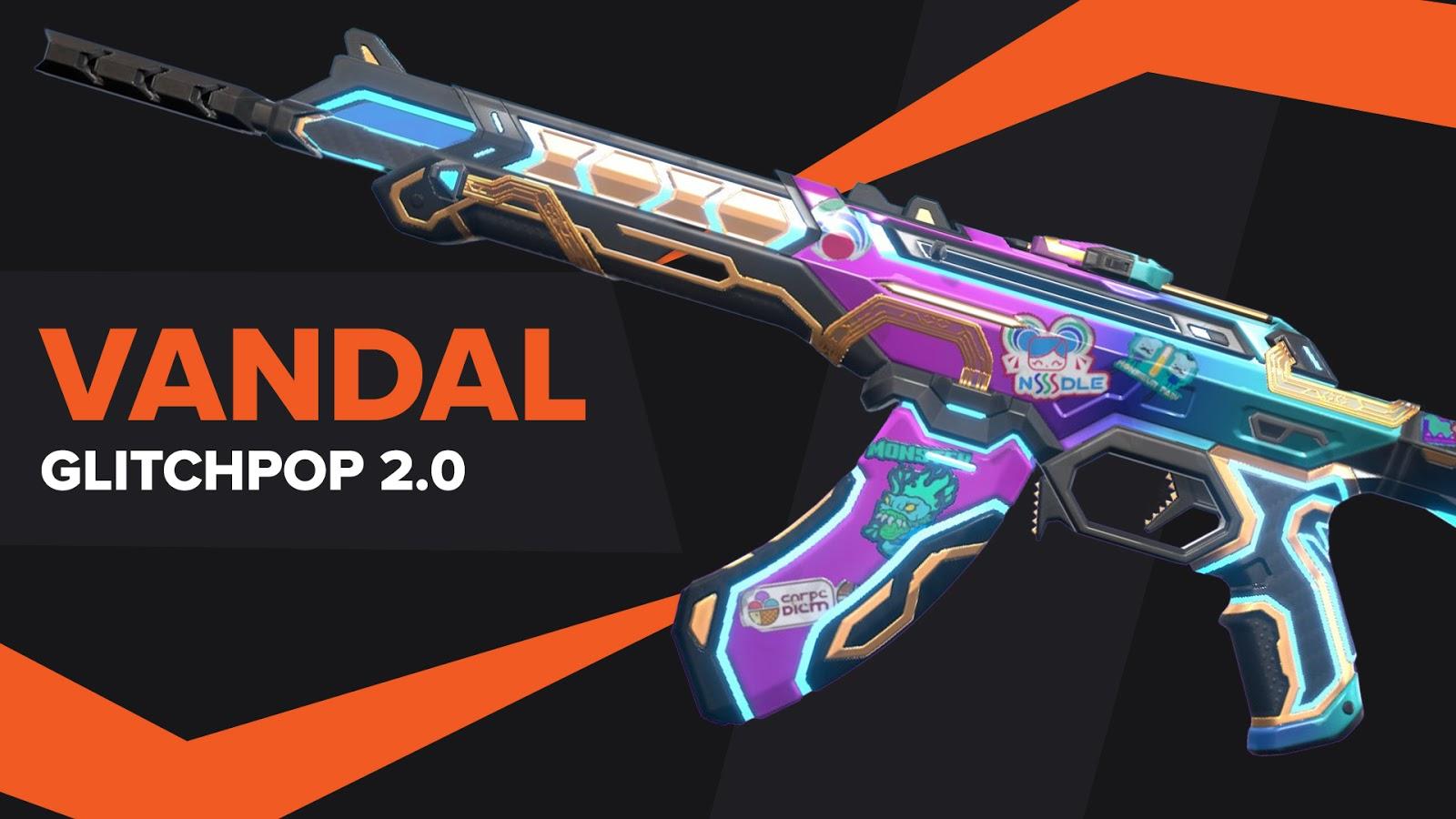 Vandal Glitchpop 2.0 Skin