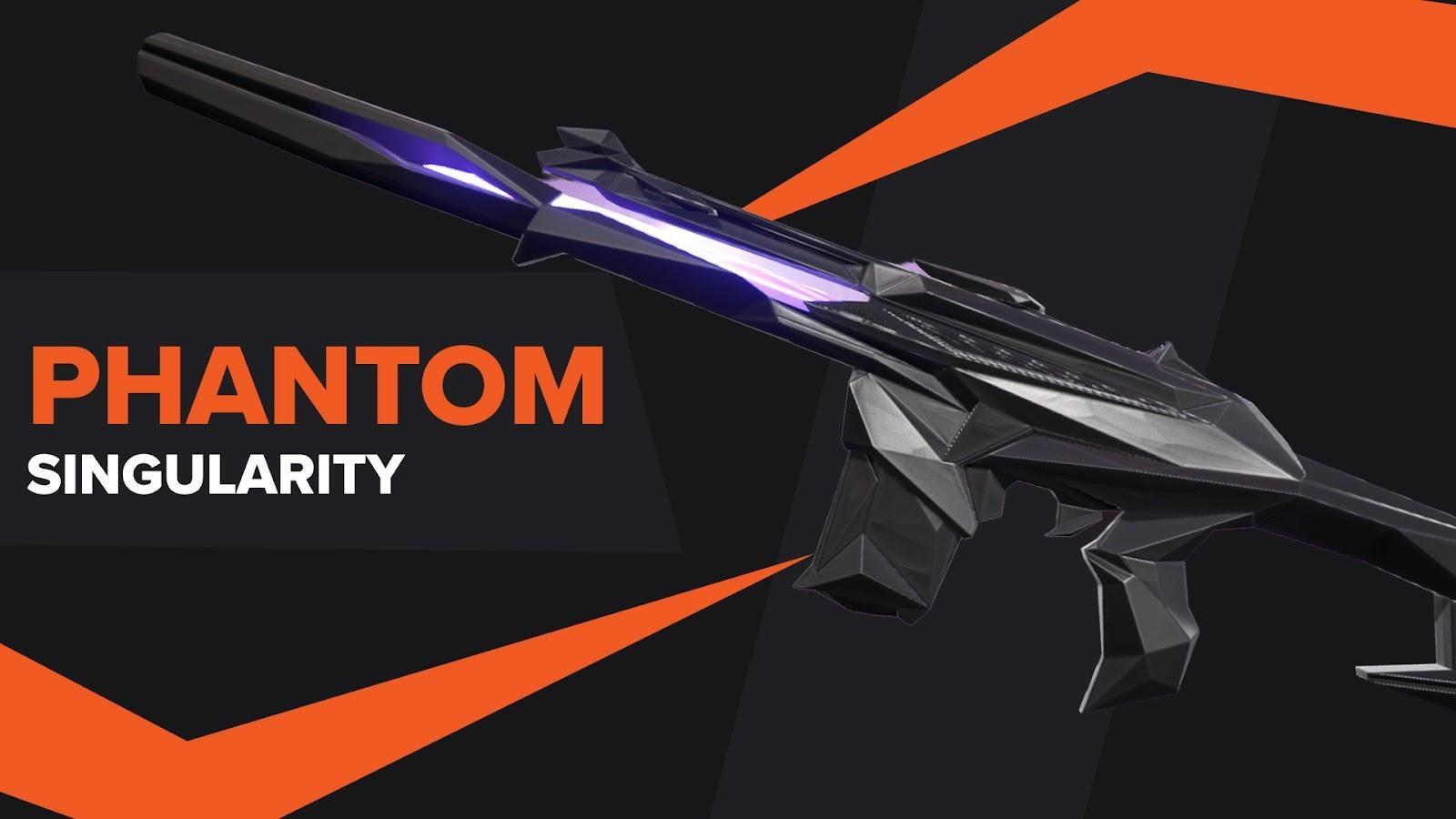 Phantom Singularity Skin