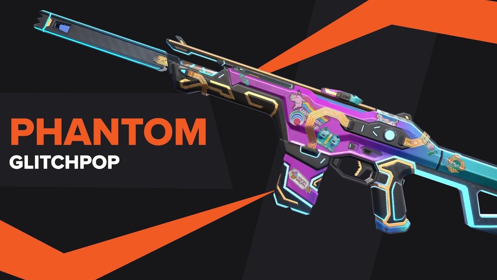 Phantom Glitchpop Skin