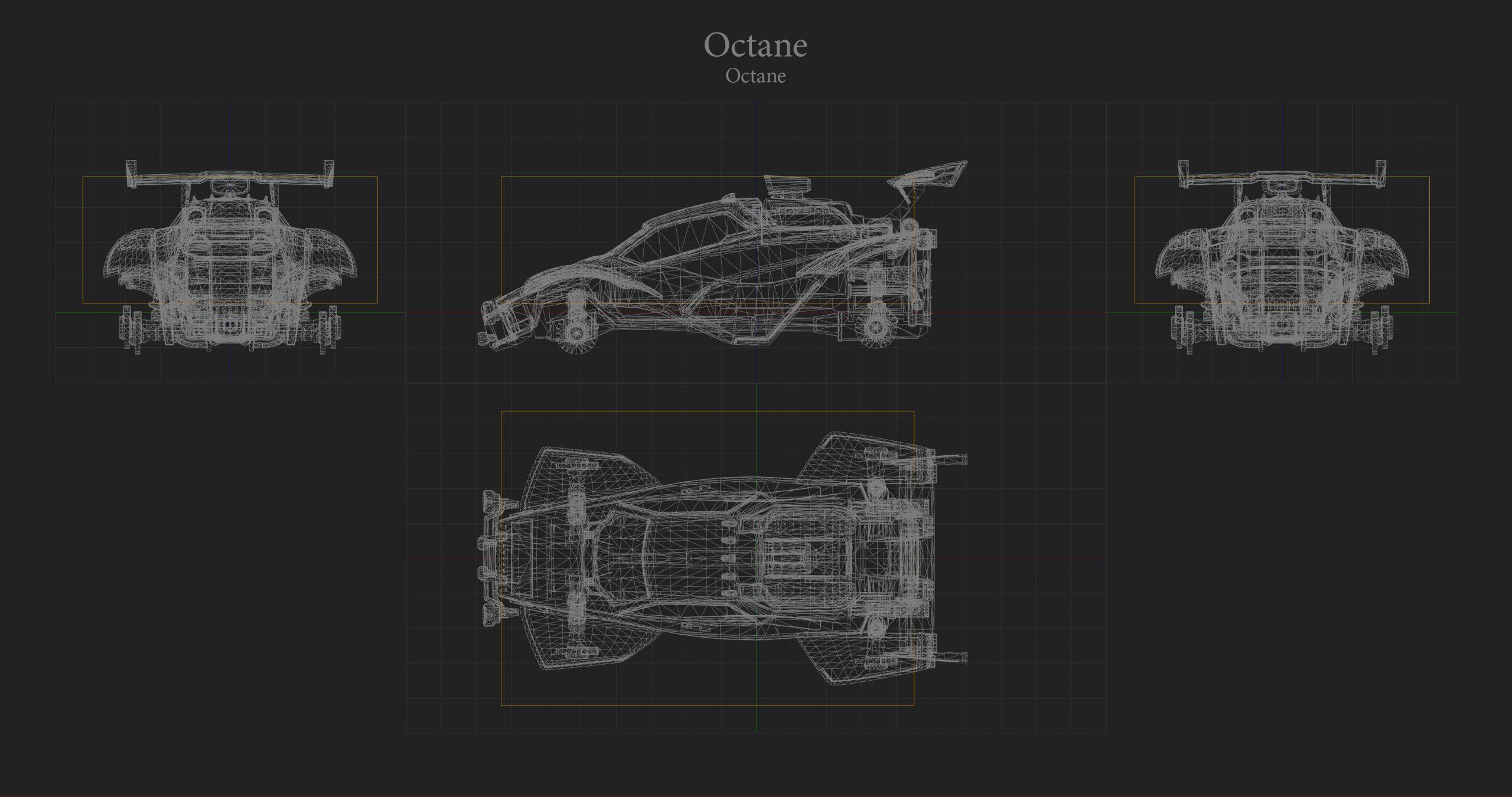 Octane Hitbox Rocket League