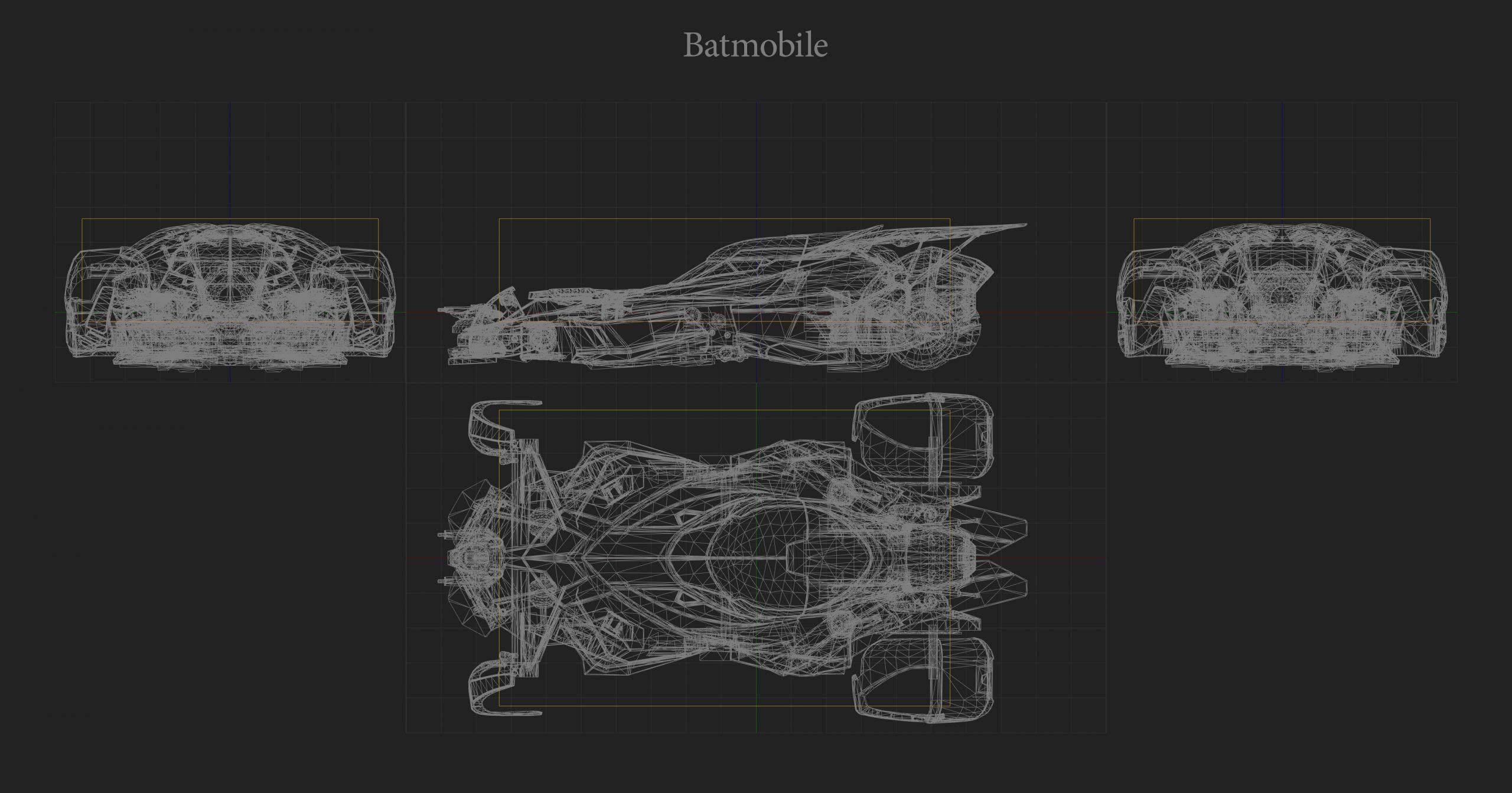 Batmobile Hitbox Rocket League