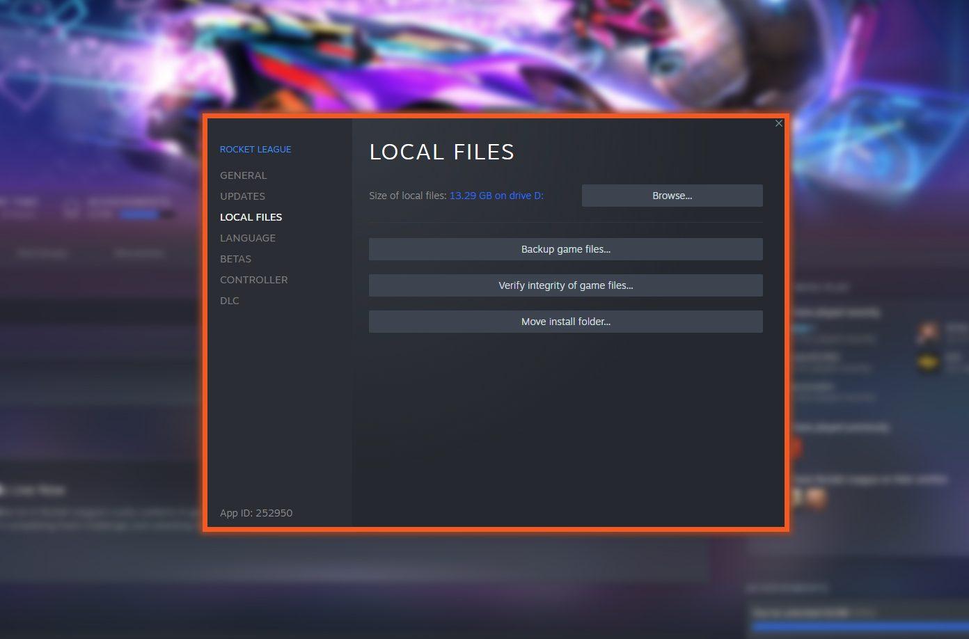Local Files Steam