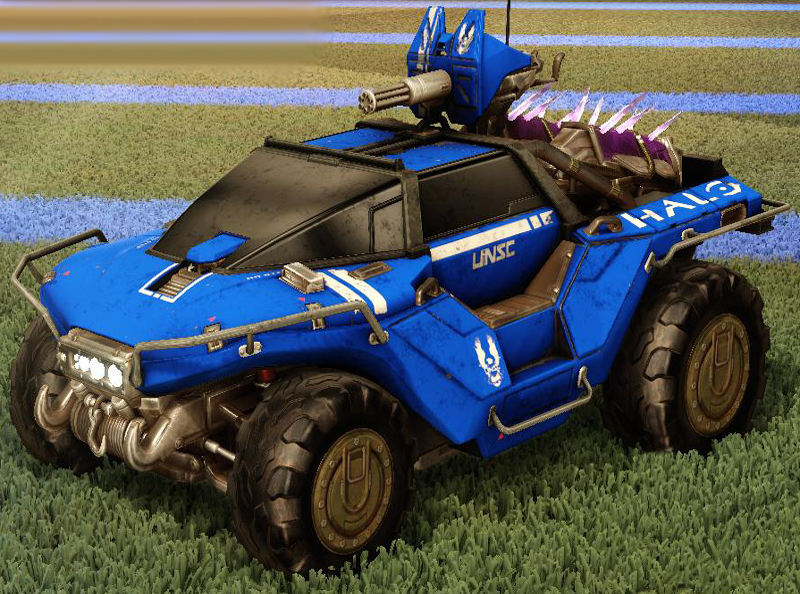 Rocket League Hog Sticker