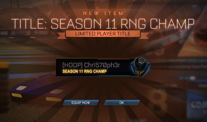RNG Rocket League