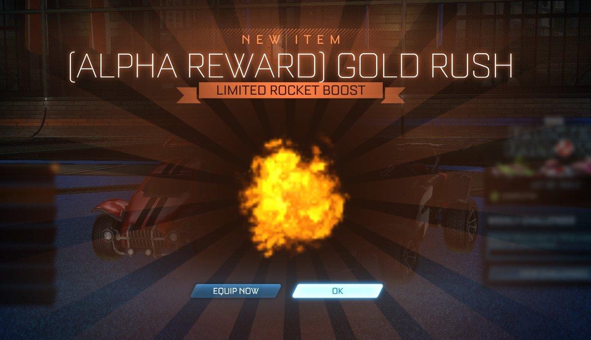 Alpha Boost Rocket League