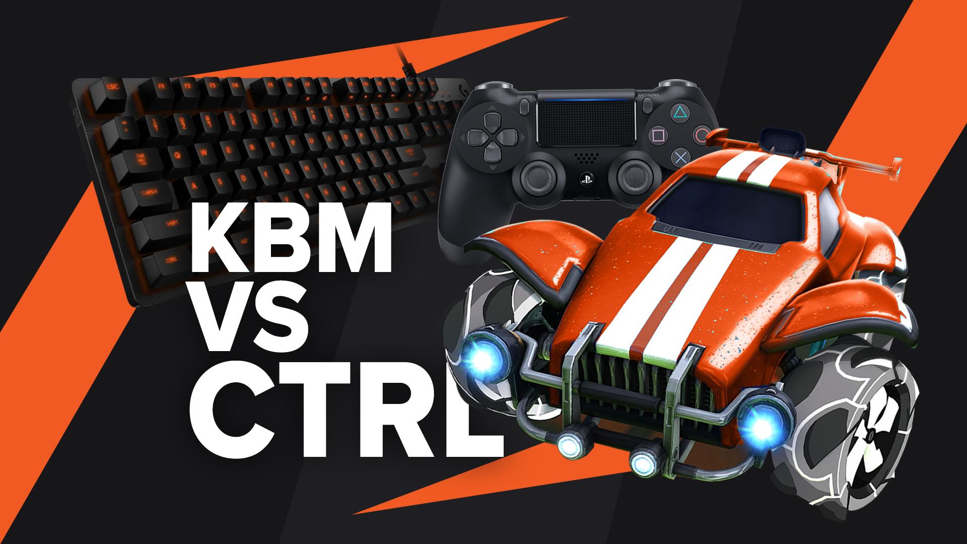 Keyboard or controller Rocket League