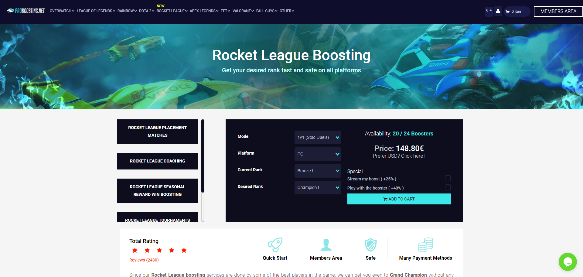 Rocket League Rank boosting Proboosting