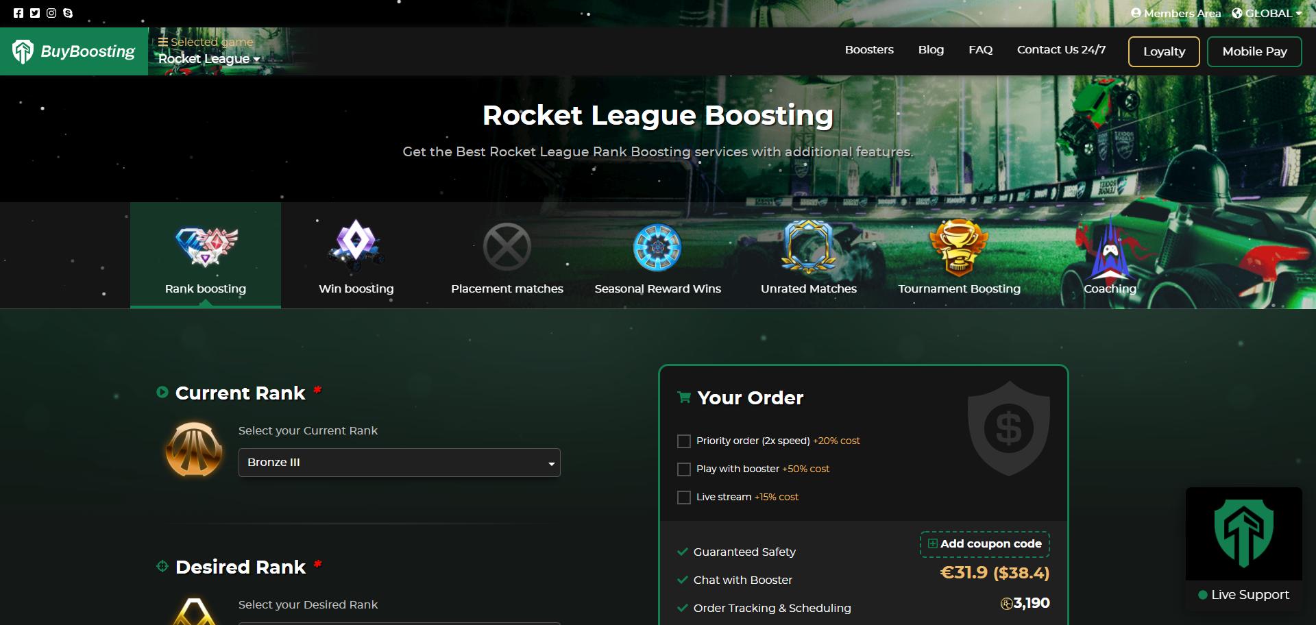 BuyBoosting Review Rocket League Ranks