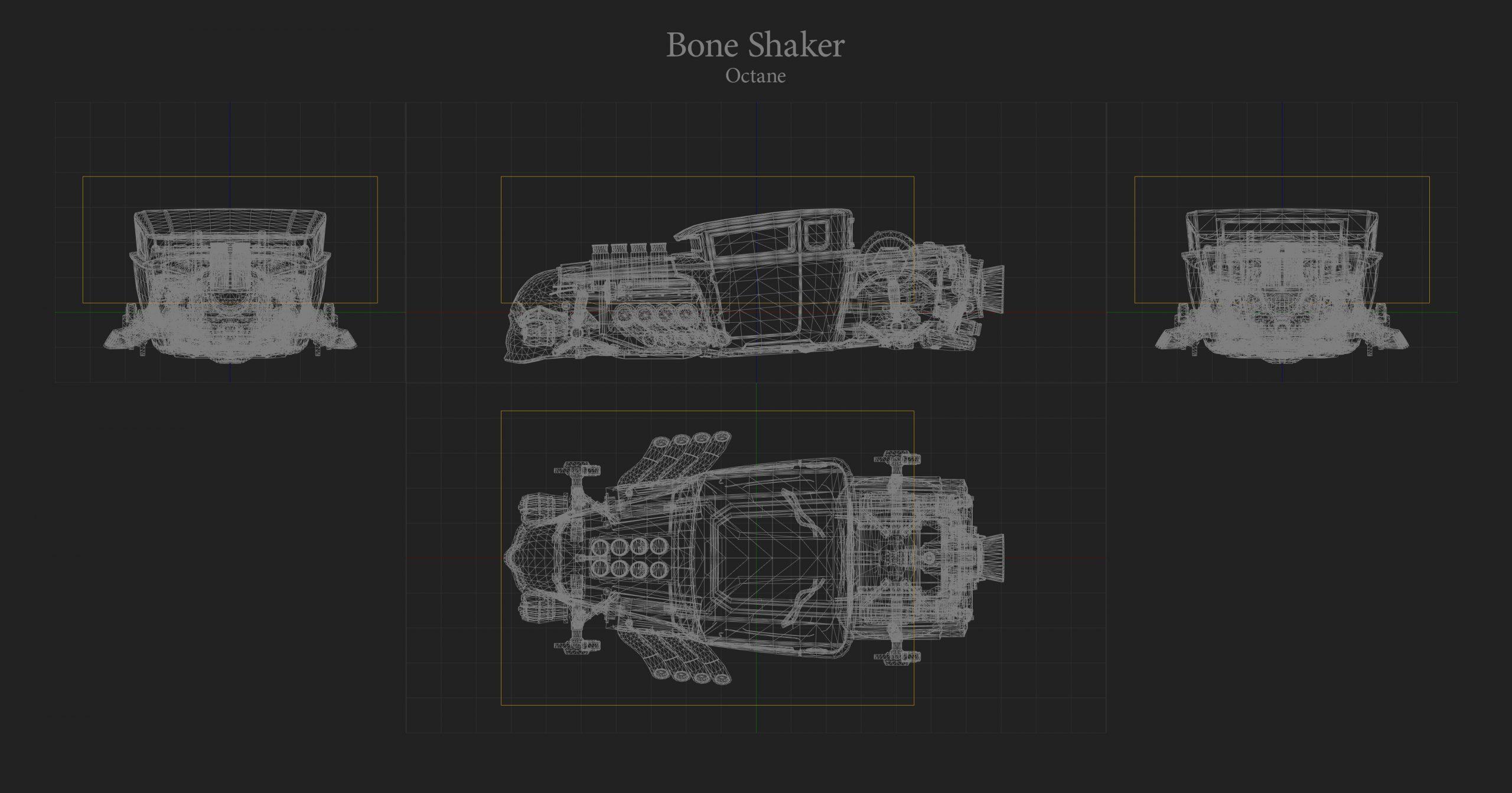 Boneshaker Hitbox Rocket League
