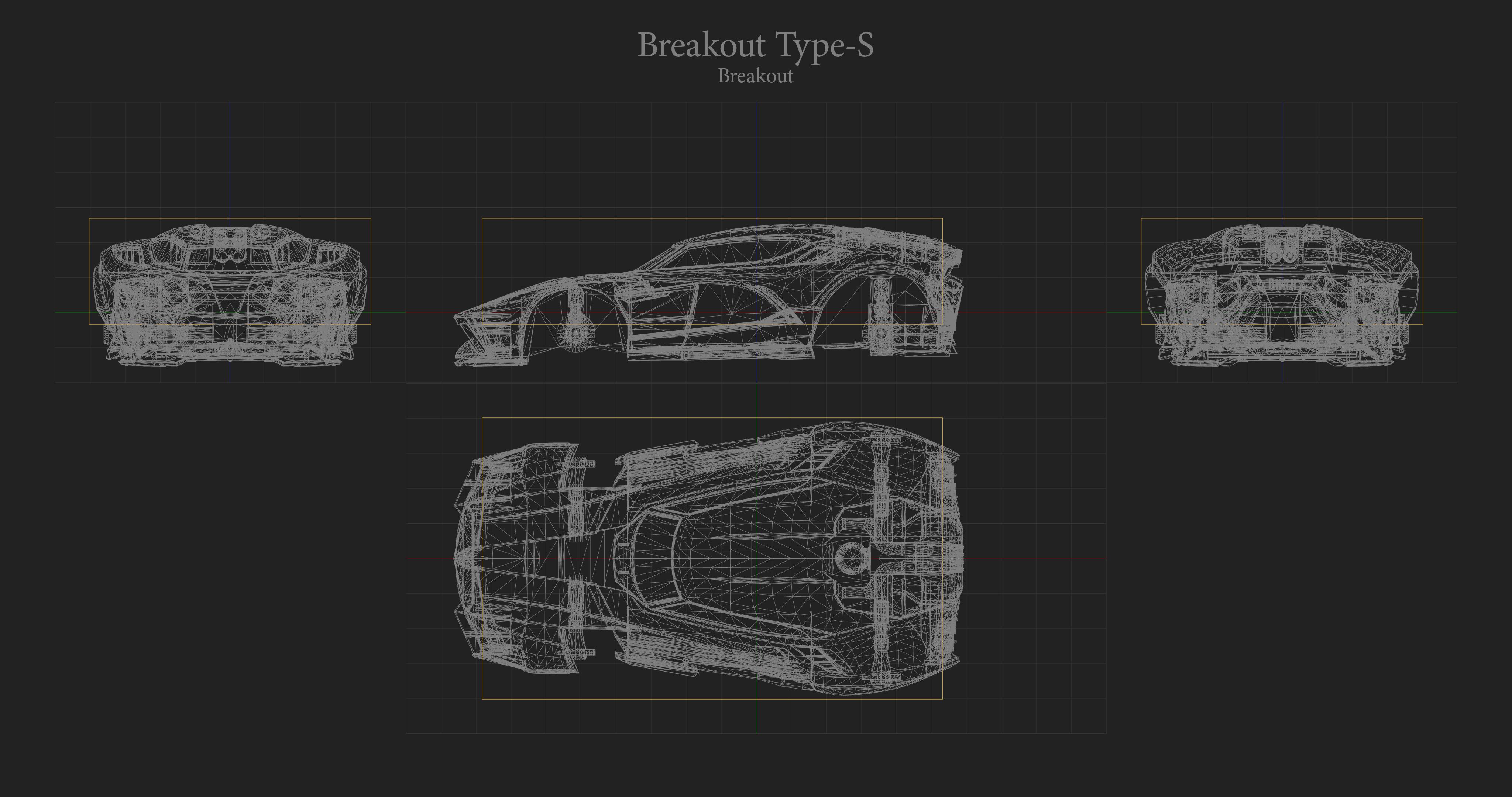Breakout Type S Hitbox Rocket League
