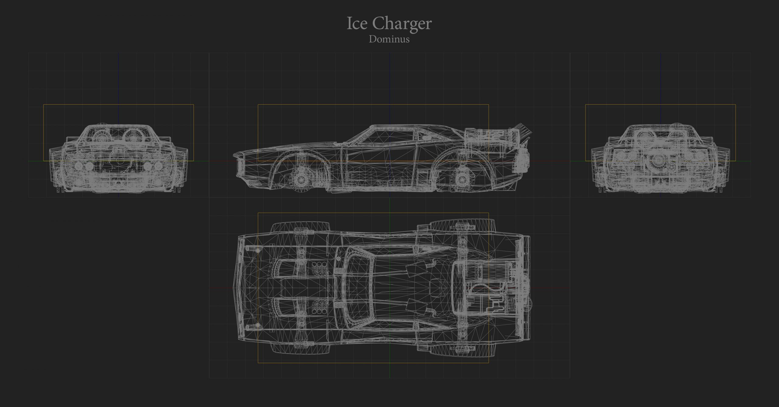 ice Charger Hitbox Rocket League