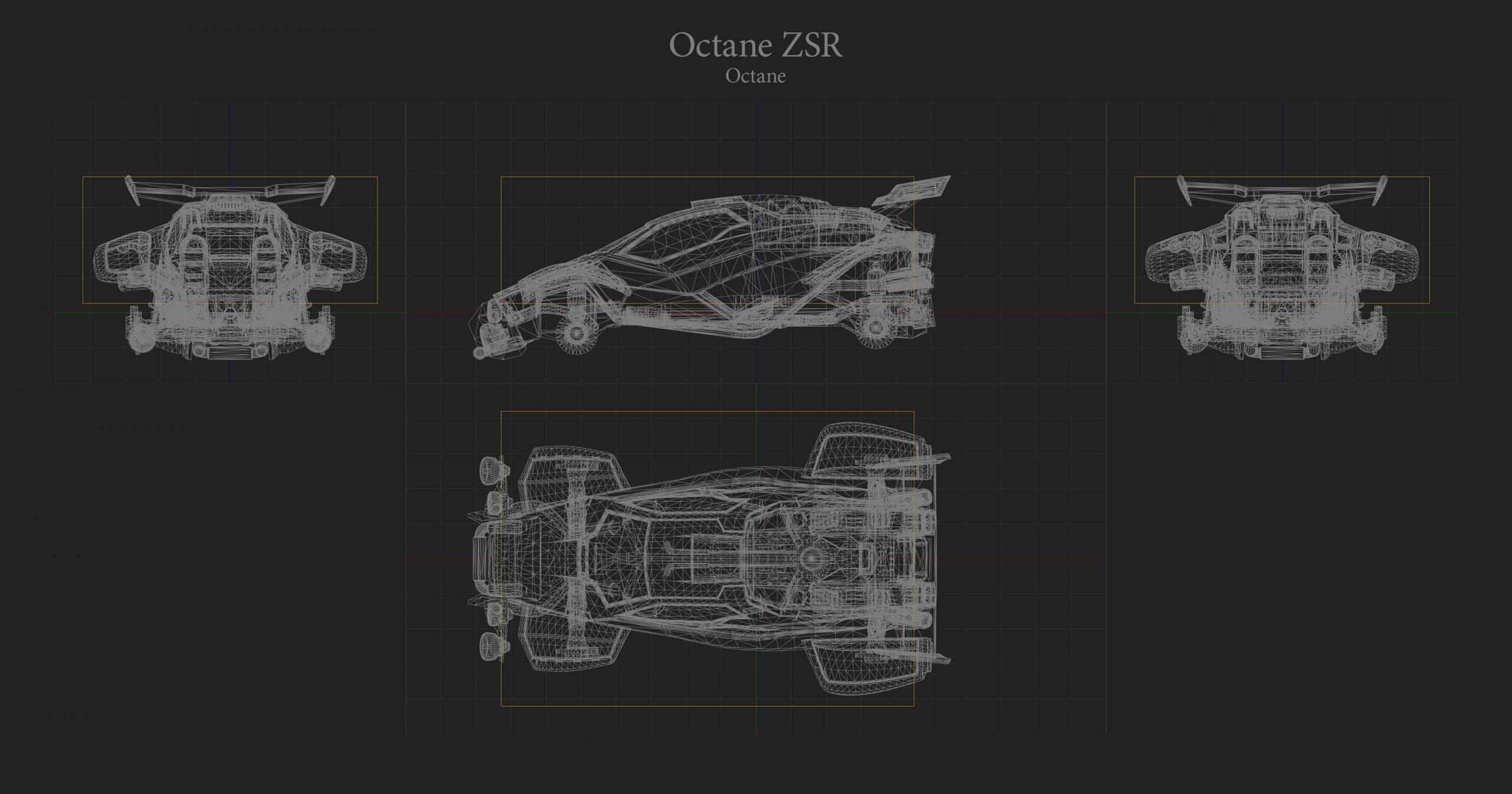 Octane ZSR Hitbox Rocket League