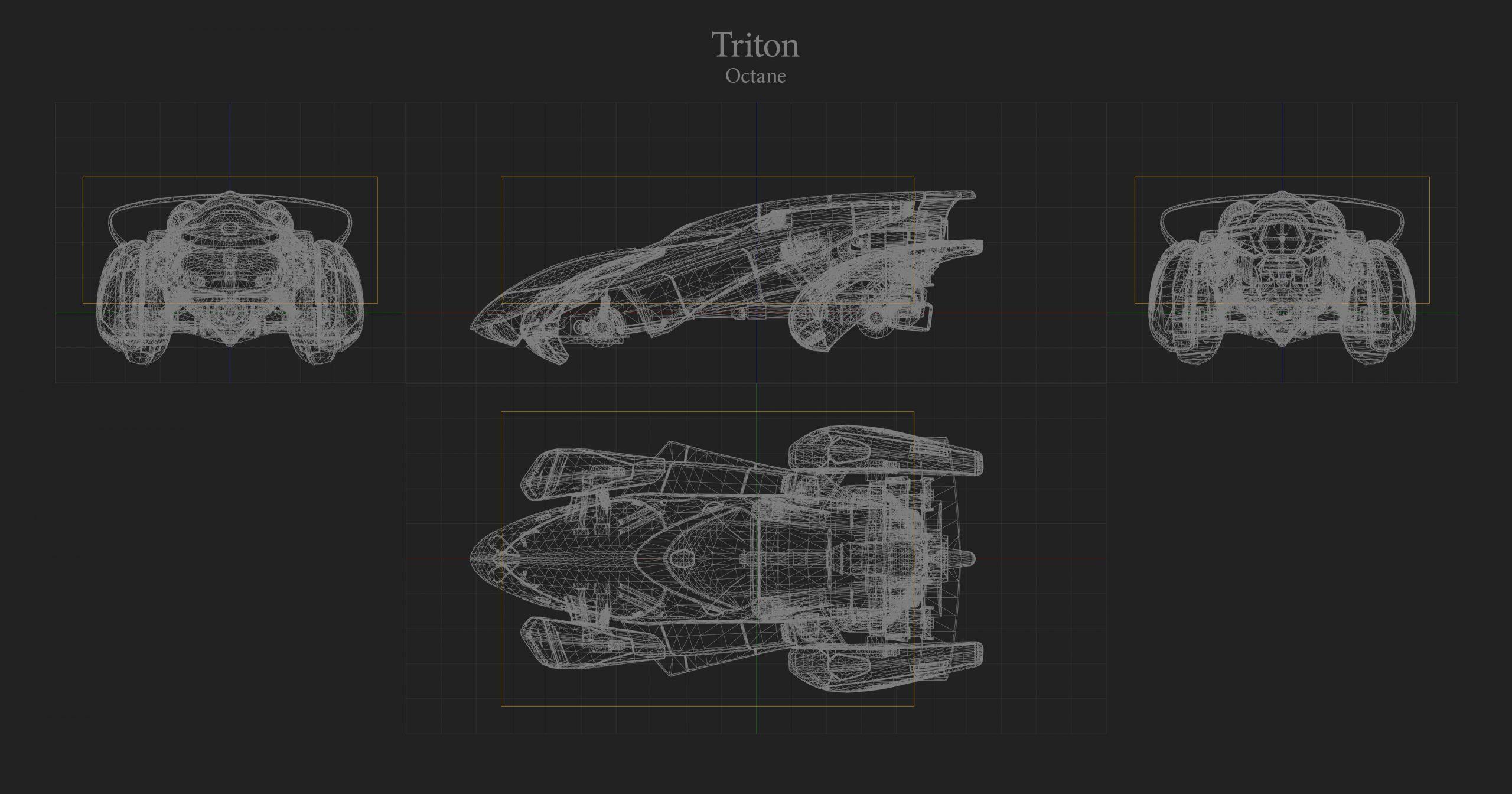 Triton Hitbox Rocket League