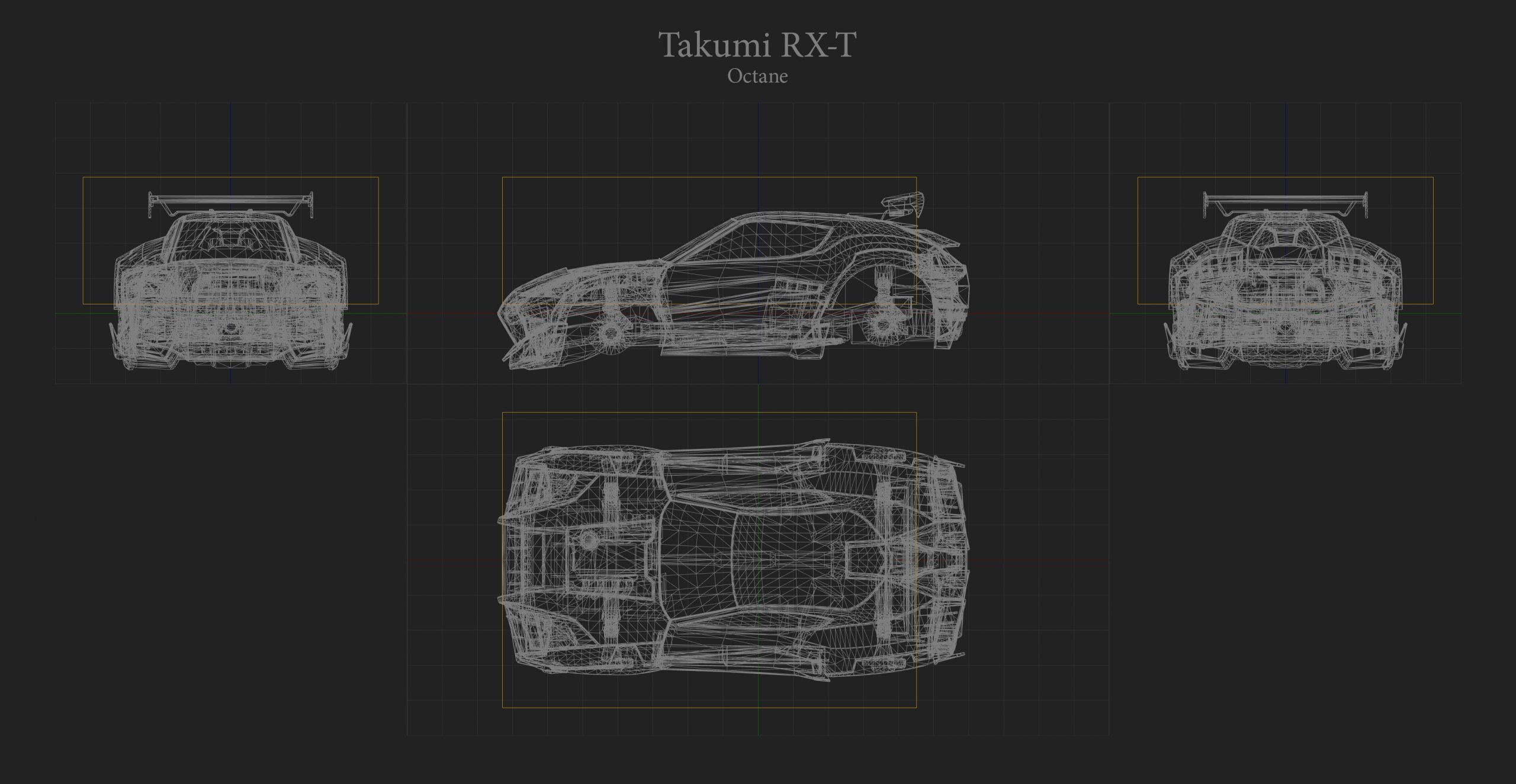 Takumi RXT Hitbox Rocket League